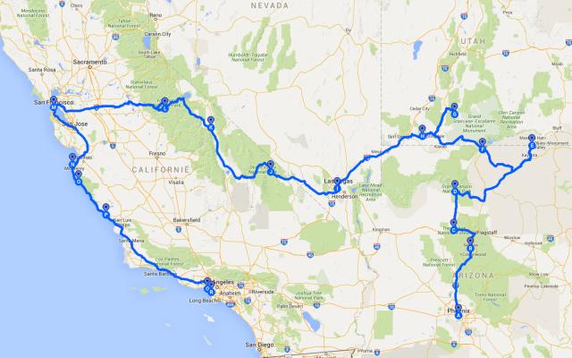 Route_door_Amerika_2011